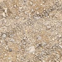 seamless soil-gravel