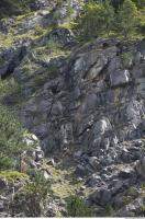 Photo Texture of Rock Grassy 0005