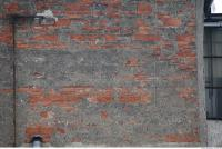 Photo Texture of Wall Brick Plastered 0003