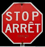 free photo texture of stop traffic sign