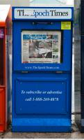 Photo Texture of Newspaper Vending Machine 0003