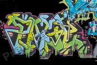 photo texture of graffiti decal 0004