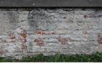 photo texture of wall brick plastered 0001