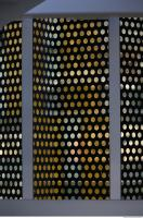 photo texture of metal grid 0001