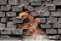 free photo texture of wall brick damaged