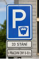 parking traffic sign