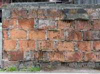 wall brick damaged