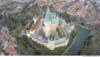 bojnice castle from above 0014