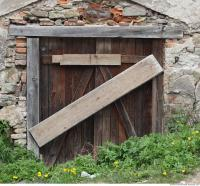 door wooden barn