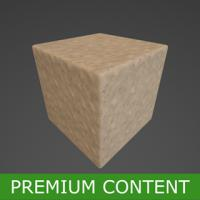 PBR Substance Material of Sand