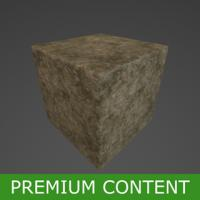 PBR Substance Material of Ground Mud